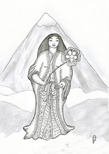 La Dame de paix